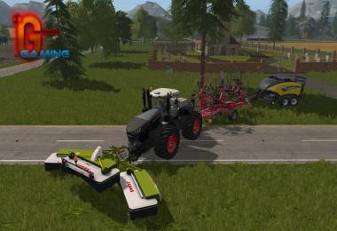 LELY Windrowers With Attacher v1.0