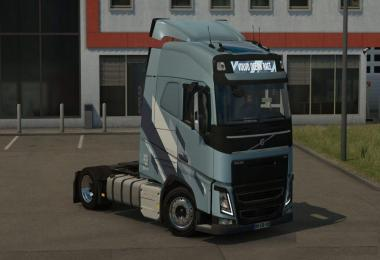 Low deck chassis addon for Eugene Volvo FH by Sogard3 v1.2