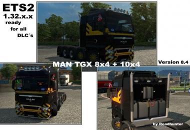 MAN TGX 8x4 / 10x4 v8.4