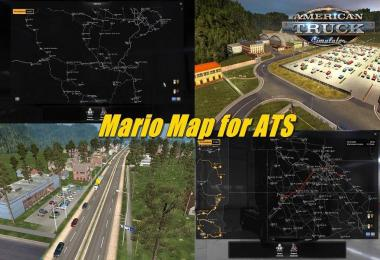 Mario Map for ATS 1.32  (Upd 07.09.18) v1.0