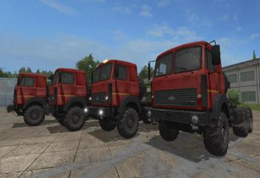 MAZ 6317 Gear box v2.3.2