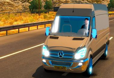 Mercedes Sprinter 2015 ATS 1.31.x & 1.32.x