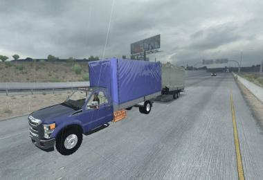 Mini Trailer for Ford F-450 ATS 1.31.x