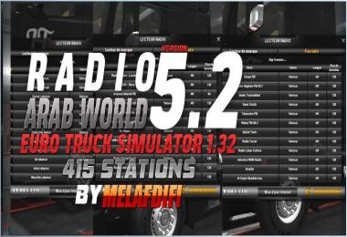 Radio Arab World v5.2 FOR ATS + ETS2 1.32