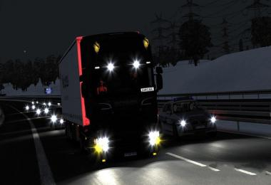 Realistic Lights For ETS2 1.32