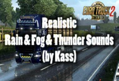 Realistic Rain & Fog & Thunder Sounds v3.7