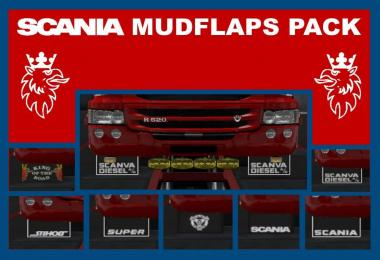Scania Mudflaps Pack v1.0