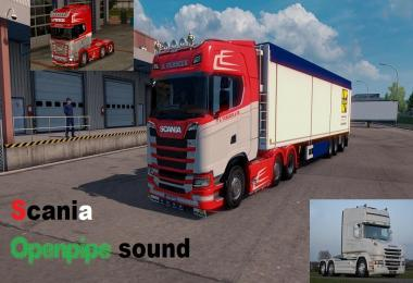 Scania Openpipe sound 1.31.x
