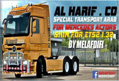 Skin Al Harif . Co Special Transport For ETS2 1.32