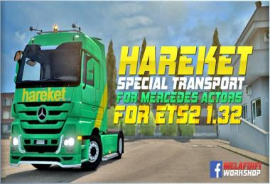 Skin Hareket Special Transport For ETS2 1.32