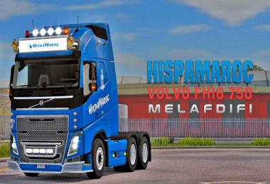 Skin HispaMaroc For ETS2 1.32