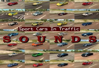 Sounds for Sport Cars Traffic Pack by TrafficManiac v1.7