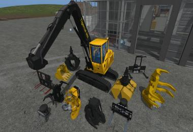 Tigercat 880 with tools v1.0