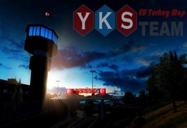 YKS Team EU Turkey Map 1.32.x