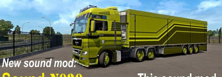 Sound mod for engines in trucks ETS2 1.32.x
