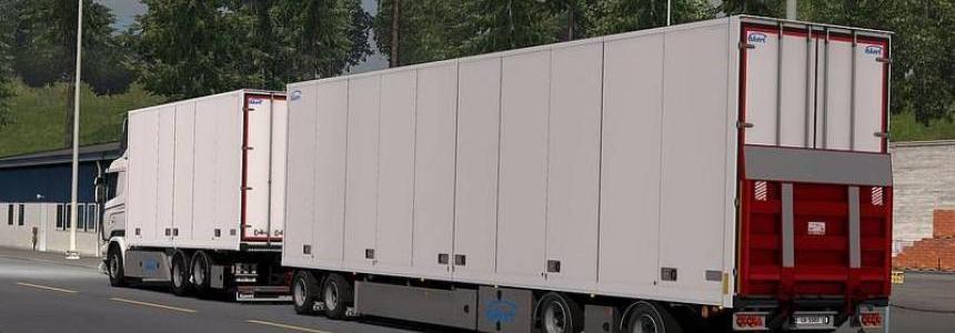 Ekeri Tandem trailers ADDON v1.3