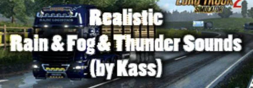 Realistic Rain & Fog & Thunder Sounds v1.0