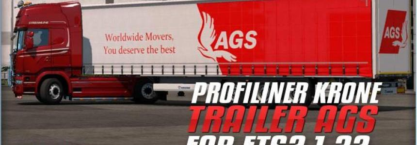 Trailer Krone AGSTransport For ETS2 1.32