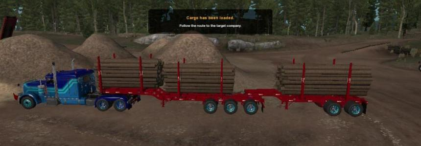 Ownable Arctic Logging Trailer 1.32.x