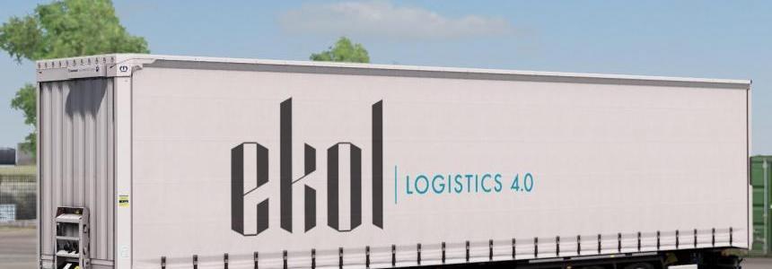 Krone Megaliner - Ekol Logistics 1.32