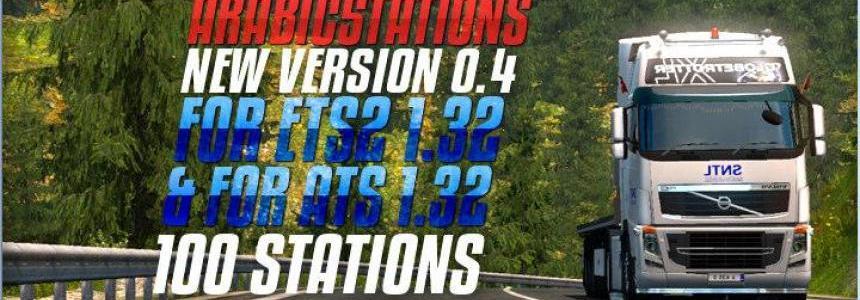 Arabic5tations v0.4 For ETS2 + ATS 1.32