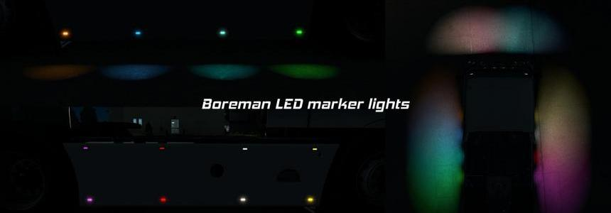 Boreman LED Marker Lights v1.6