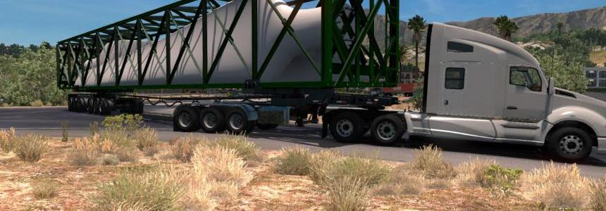 Cleverson's Steerable Dolly trailer 1.32