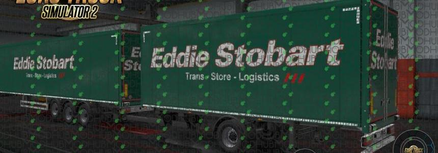 Eddie Stobart Ownership Trailer - Green v1.0