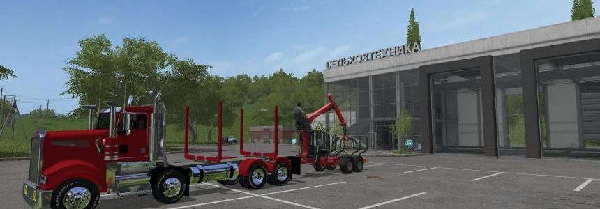Logging Truck T908 v1.0