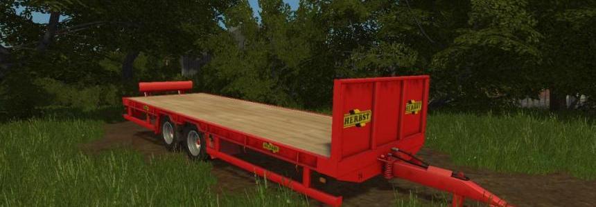 Herbst 24FT Flat Bed Trailer v1.0.0.0