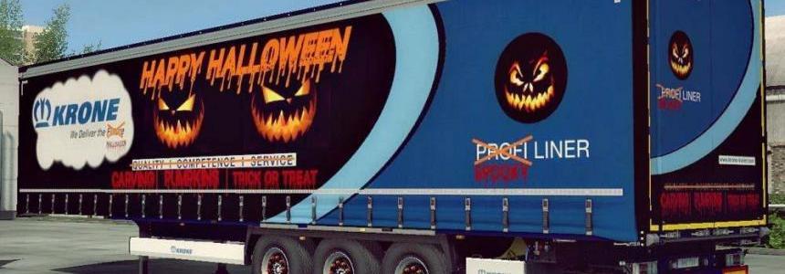 Krone Profiliner Halloween Edition 1.32