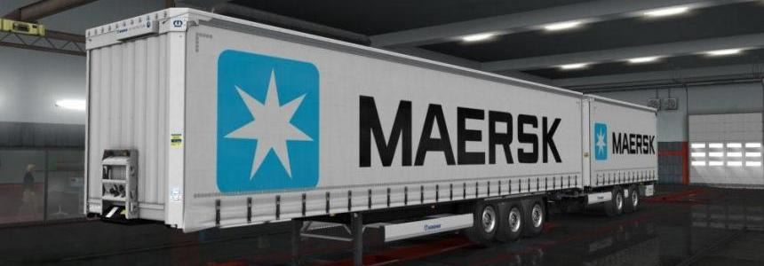 Maersk Trailers for Krone DLC V1.0