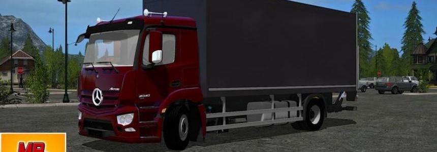 Mercedes Benz Antos 2040 case with accessories v1.0
