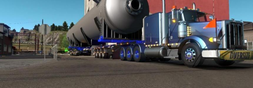 Oversize Owned Dolly Trailer (9 axles with steer axles) v1.0