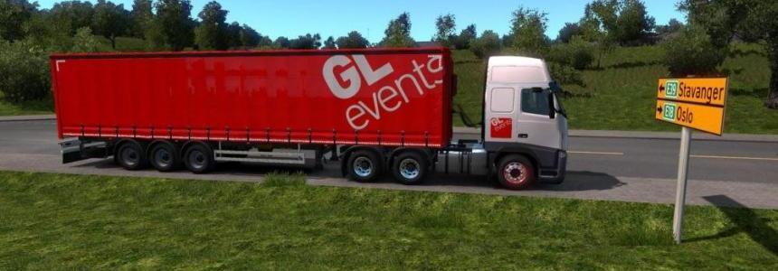 Pack Skin Trailer Owned GL Events v1.0