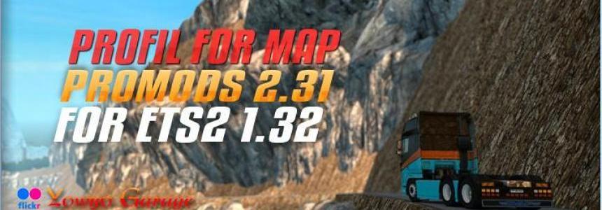 Profil For Map Promods v2 31 For ETS2 1 32 - Modhub us