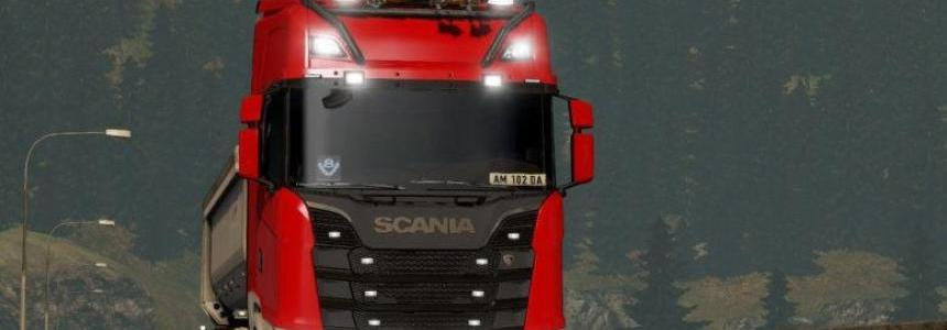 Realistic Headlights for All Trucks 1.32.x