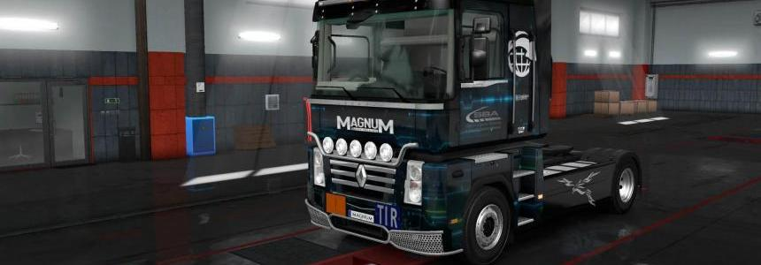 Renault Magnum SBA Logistic skin 1.32