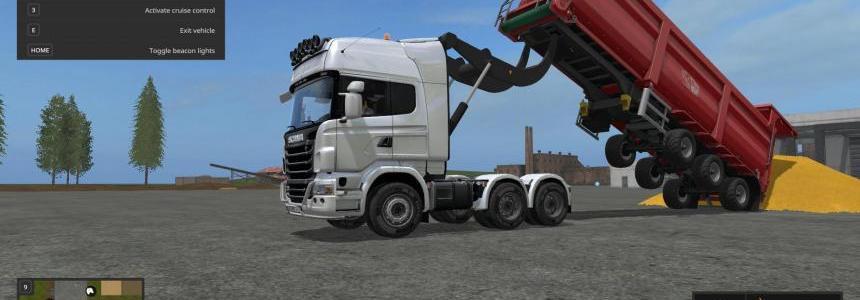 Scania R730 V8 Lifter v1.0