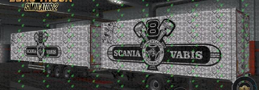 Scania V8 Vabis Ownership Trailer Skin v1.0