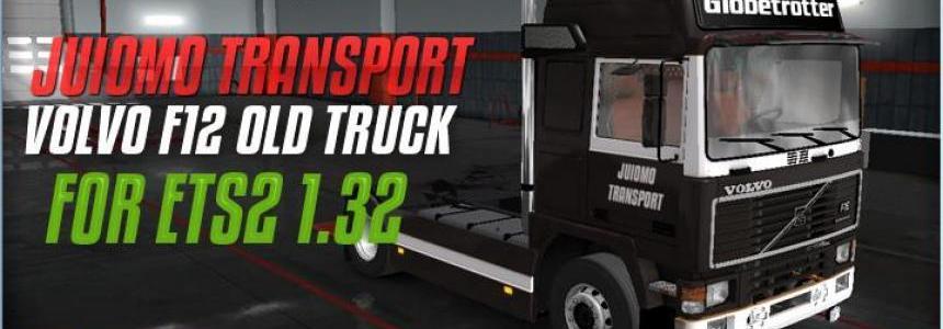 Skin JuomoTransport Volvo F12 For ETS2 1.32