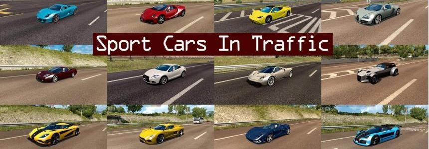 Sport Cars Traffic Pack by TrafficManiac v2.0