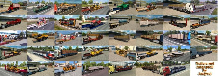 Trailers and Cargo Pack by Jazzycat v7.4.1