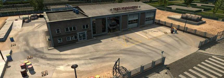 Truck Headquarters Garage v1.2 by Frkn64 1.32.x