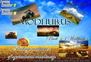 Package wallpaper of agricultural machinery (43 Wallpapers) v1.0
