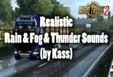 Realistic Rain & Fog & Thunder Sounds v1.0
