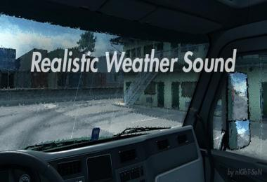 Realistic Weather Sound v1.7.9 for ATS 1.32.x