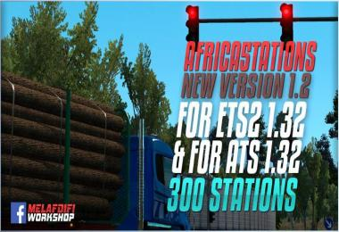 Africa Stations v1.2 For ETS2 1.32