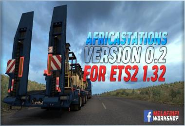 AfricaStations v0.2 For ETS2 1.32