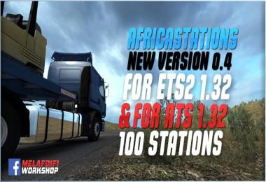 AfricaStations v0.4 For ETS2 1.32.x